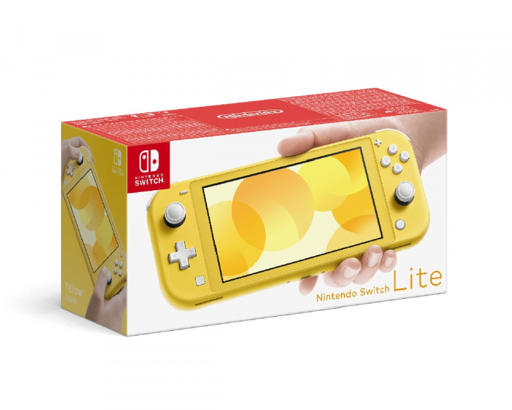 Switch Lite Yellow ryhmässä Pelikonsolit / Nintendo / Nintendo Switch @ MaxGaming (14905)